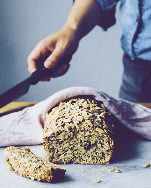 I'm just nuts about this banana bread ?. It's been too long ♡ recipe in the blog archives. Link in…