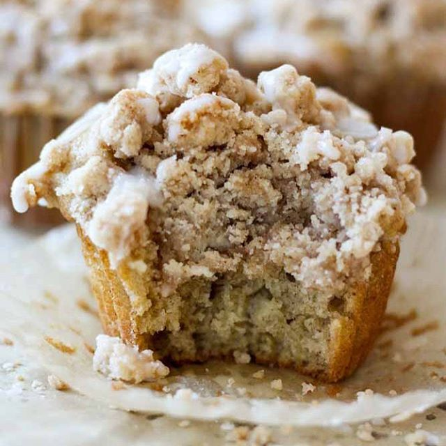 Coffee Cake Muffins With Brown Sugar Crumb Topping
