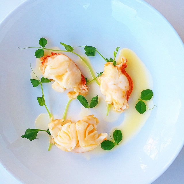 Butter Braised Lobster