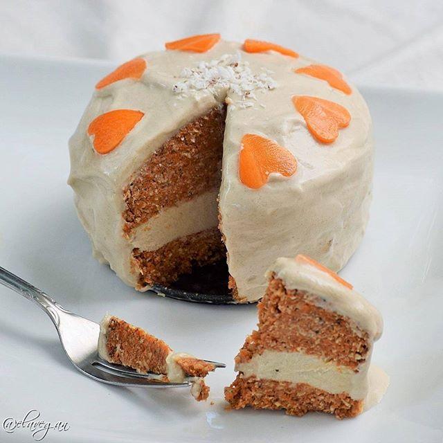 Raw Vegan Carrot Cheese Cake!