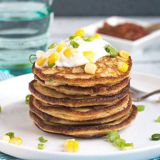 Corn And Leftover Mashed Potato Pancakes