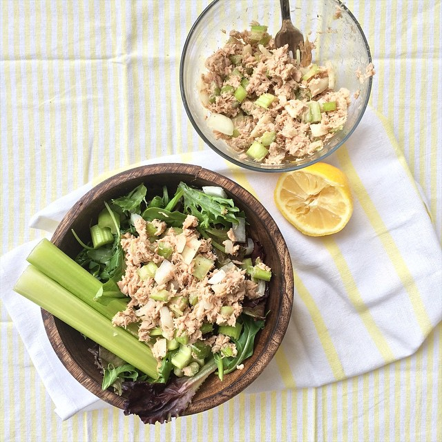 Quick And Easy Dijon Tuna Salad