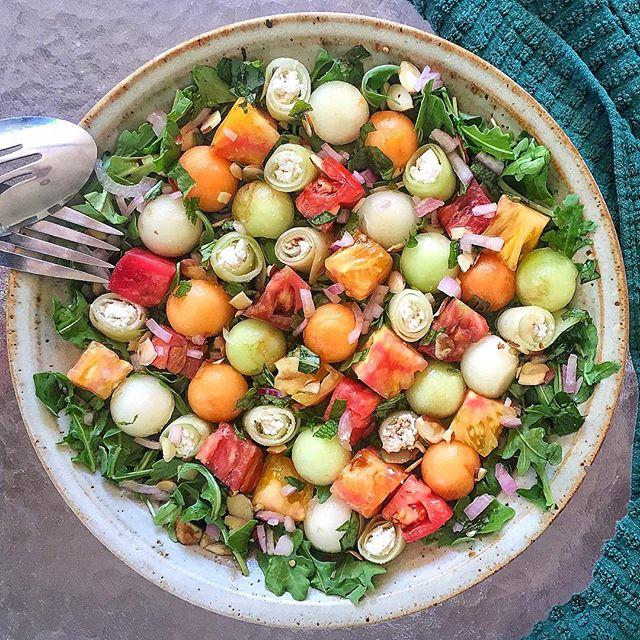 This Watermelon Arugula Salad Recipe Will Be Your Warm-WeatherGo-To This Watermelon Arugula Salad Recipe Will Be Your Warm-WeatherGo-To new images