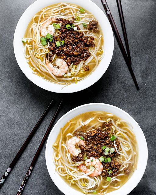 Tainan Style Shrimp And Pork Noodles recipe | The Feedfeed