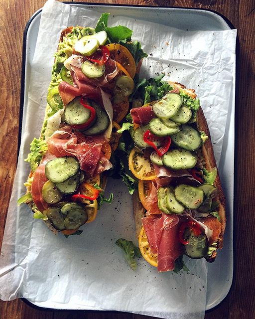 Footlong Summer Sandwich