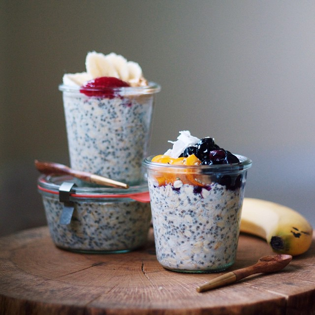 Overnight Oats Two-ways