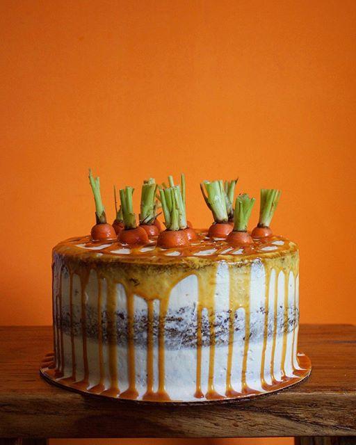 Carrot Cake Fresh Ginger