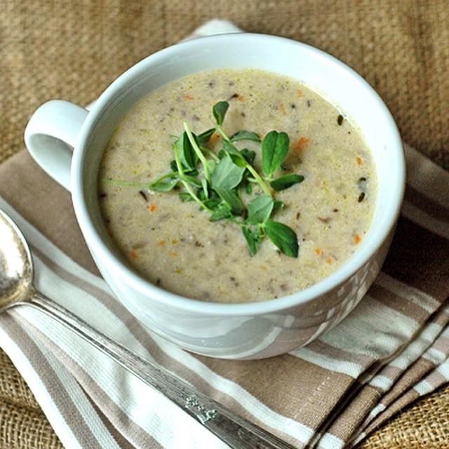 Cream Of Mushroom & Herb Soup