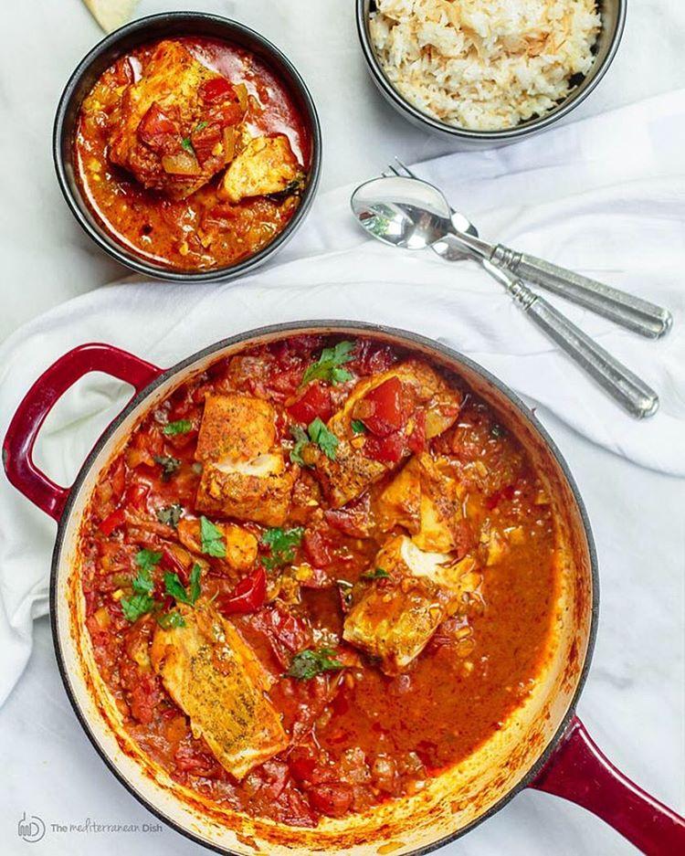 Shakshuka-style Baked Fish