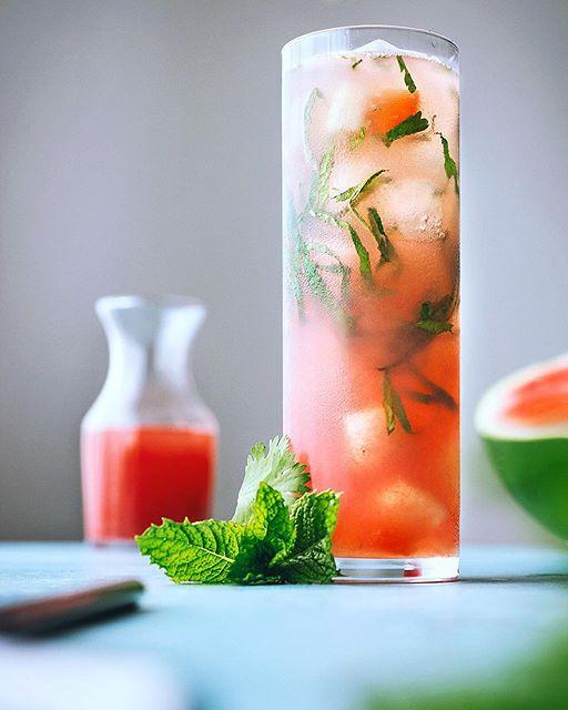 Watermelon And Cilantro Cocktail