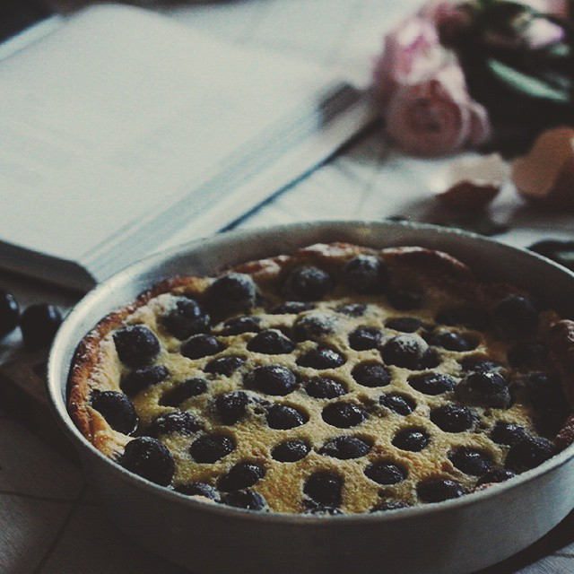 Cherry Clafoutis With Orange Blossom Water