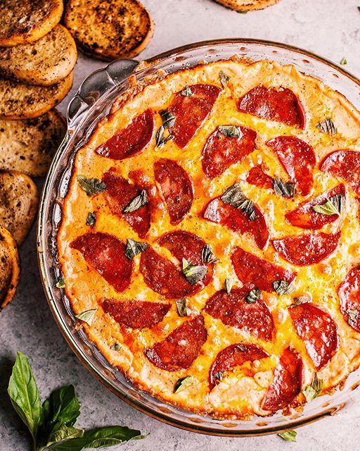 Chorizo Pizza Dip