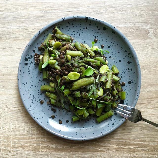 Lentils And Green Bean Salad