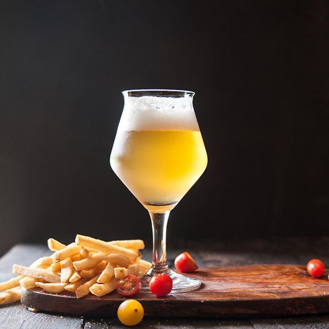 It's a French fries and beer sort of day.