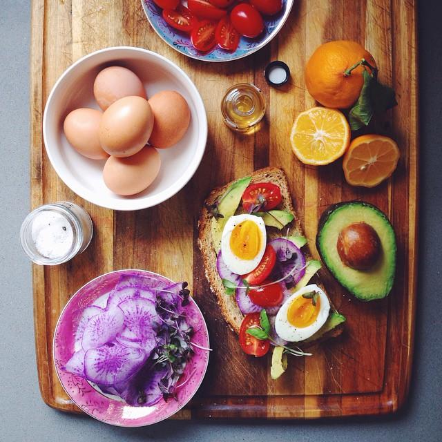 Avocado Toast With Triton Radish And Egg