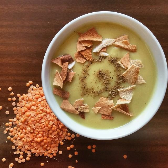 Arabic Lentil & Potato Soup