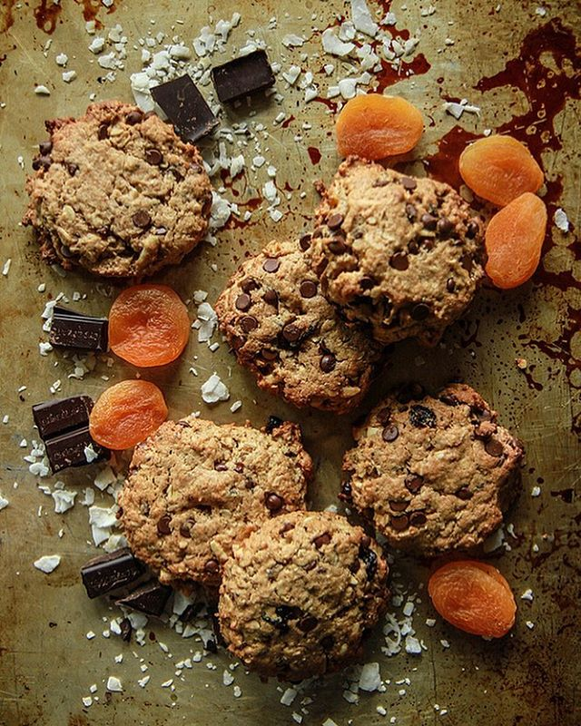 Monster Kitchen Sink Cookies With Coconut And Apricots | TheFeedfeed