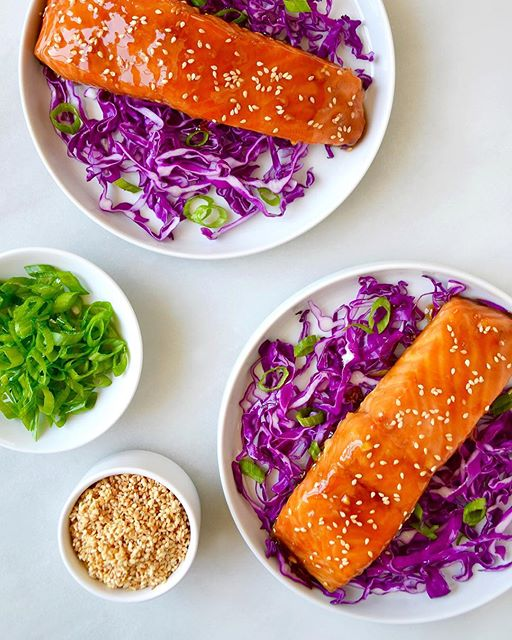 This Baked Salmon with Honey-Garlic Glaze has turned many a salmon-hater into a salmon-lover!