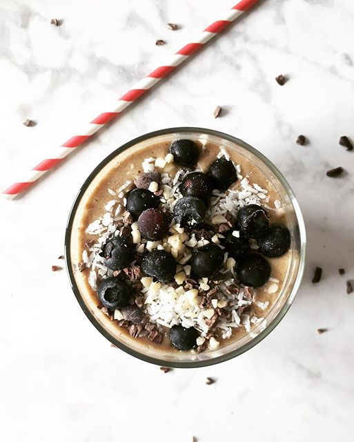 Cacao Zucchini Smoothie