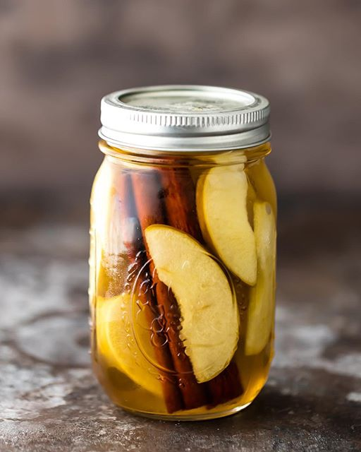 Apple Pie Infused Vodka With Cinnamon Sticks Recipe By