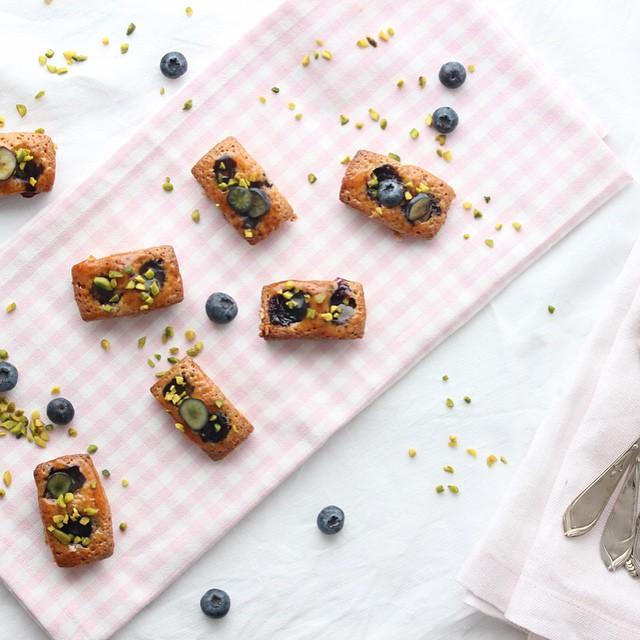 Blueberry & Toasted Hazelnut Financiers