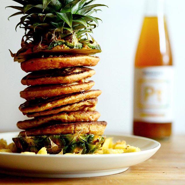 Paradise Pineapple Pancakes