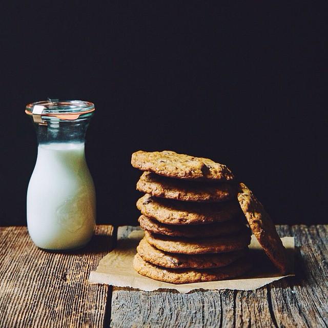 Chocolate Crunch Granola Cookies