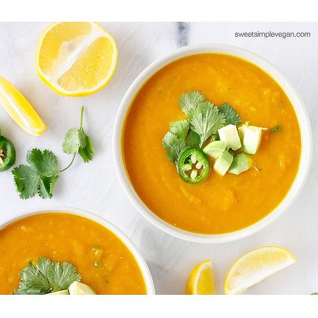 Butternut Squash Jalapeno Soup