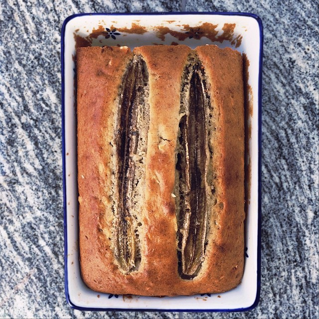 Brown Butter Banana Bread With Cashews
