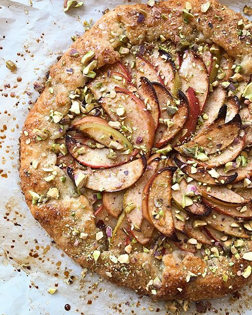 Another Rosh Hashana idea: this Apple Honey Galette