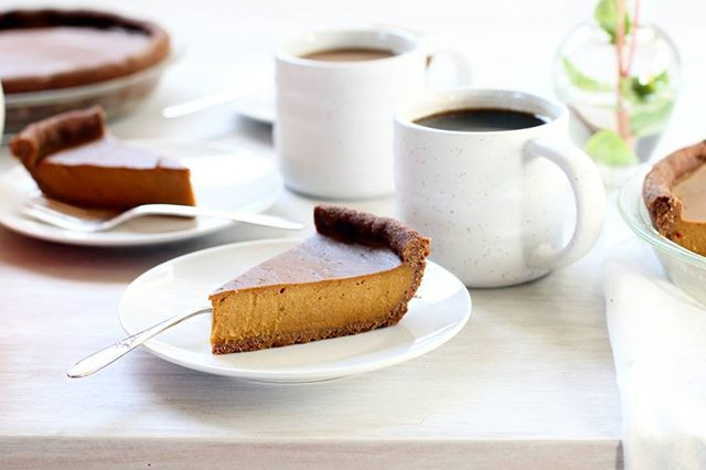 Butternut Squash Pumpkin Pie