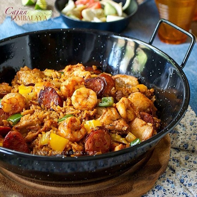 Cajun Spice Jambalaya