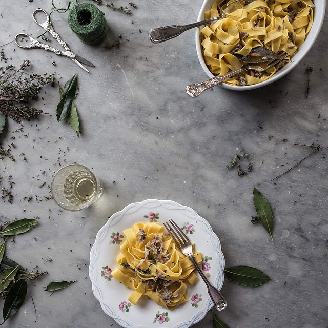Egg Pappardelle With Duck And White Wine Ragù