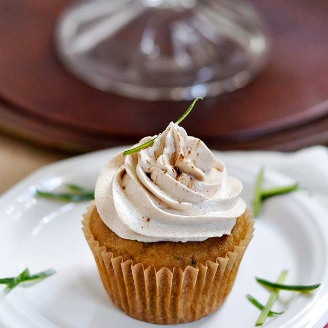Zucchini Almond Cupcakes • Glynnis // The Modern Buttery