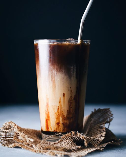 Salted Caramel Coconut Iced Latte Recipe