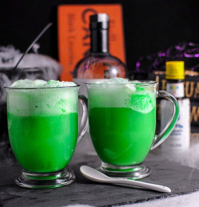 Onward with our Harry Potter Halloween theme, we have the Polyjuice Potion cocktail! Combo of lime…