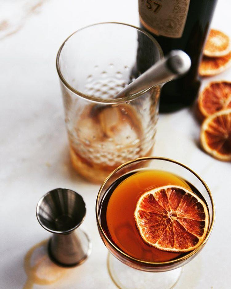 Manhattan Cocktails With Orange Bitters 3 Ways