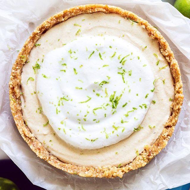 Raw Coconut Lime Pie