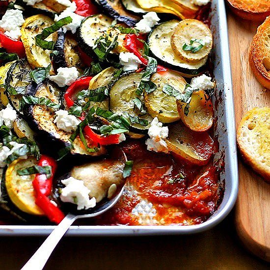 Seems like the perfect day to make this Hearty Ratatouille with Goat Cheese!One of my most popular…