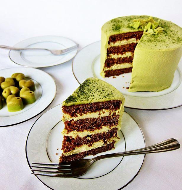 Chocolate Pear Cake Vegan