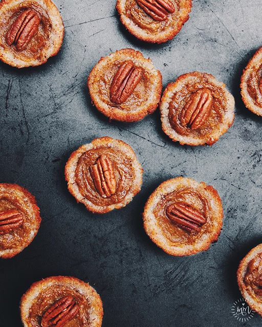 Mini Pumpkin Pecan Pies