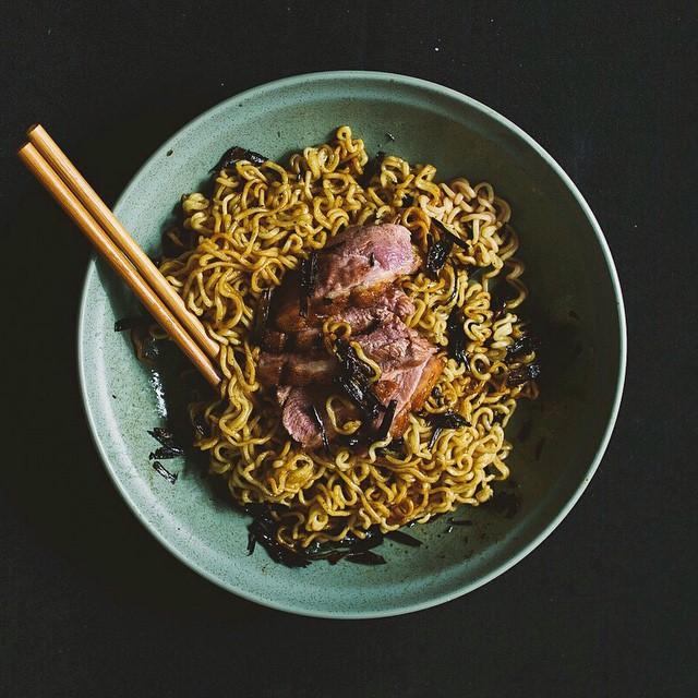 Duck Fat Scallion Noodles
