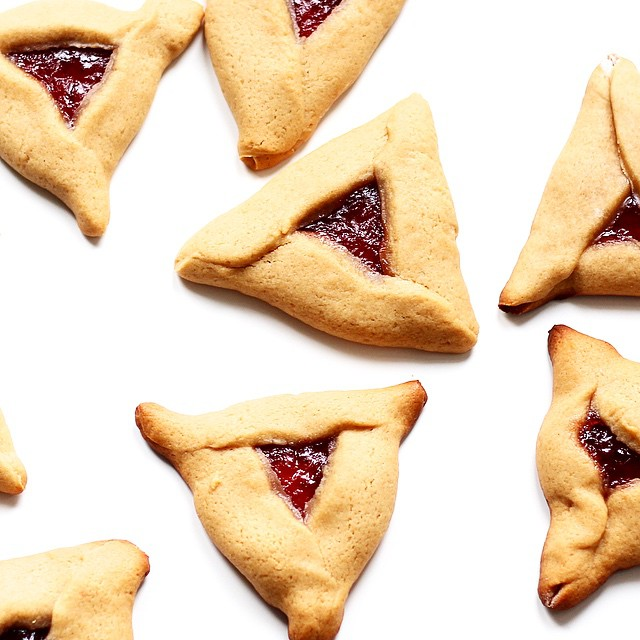 Peanut Butter And Jelly Hamentashen