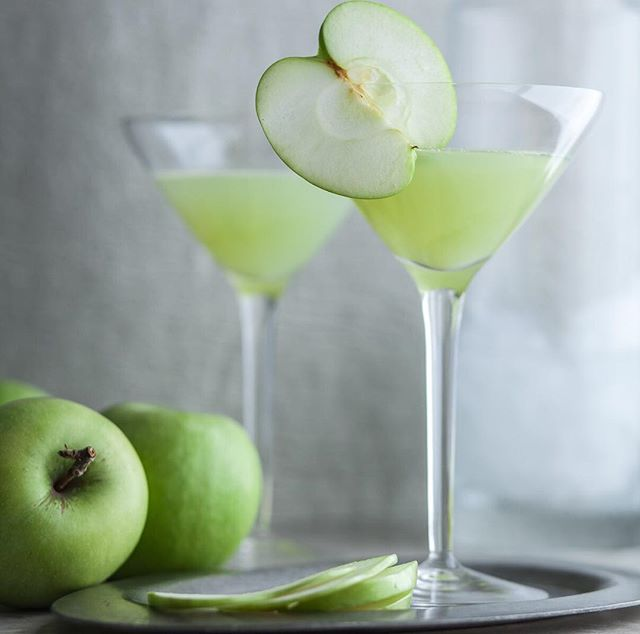 Green Apple Lime And Ginger Martini