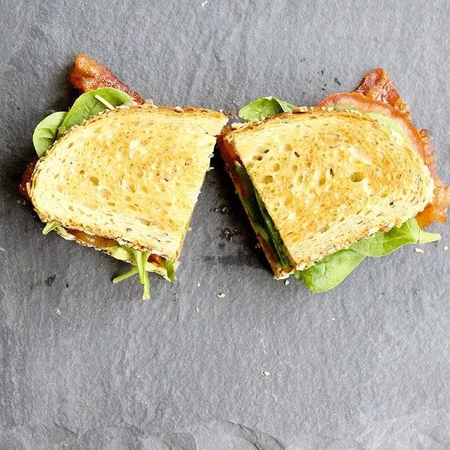It's #nationalsandwichday!! I plan on celebrating with my favorite sandwich. BLT with Cayenne…