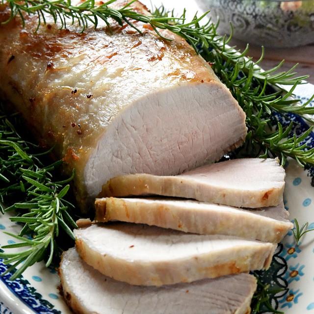 Rosemary Cider Brined Pork Loin