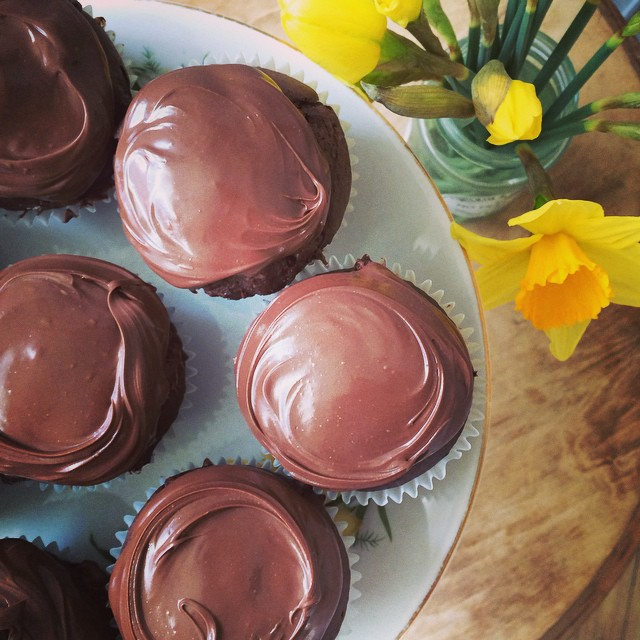Double Chocolate Muffins With Nutella