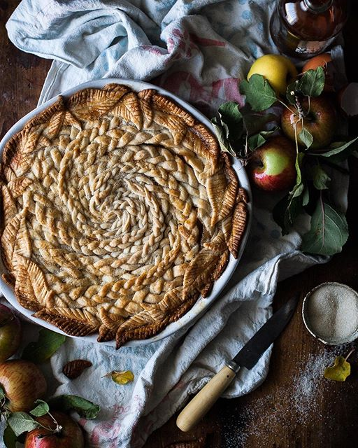 Brown Butter And Maple Caramel Apple Pie