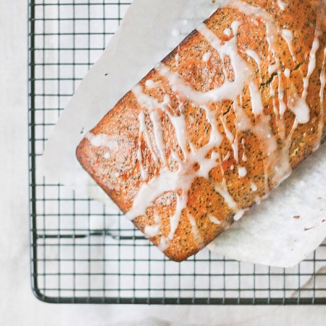 Vegan Lemon Poppyseed Loaf