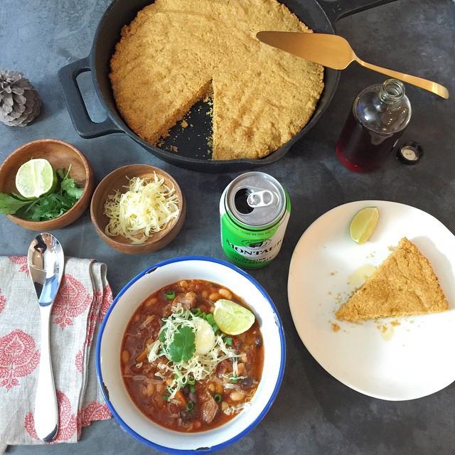 Texas Chili & Jalapeño Cornbread